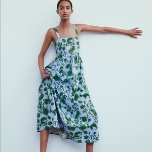 NWT Zara Floral Maxi